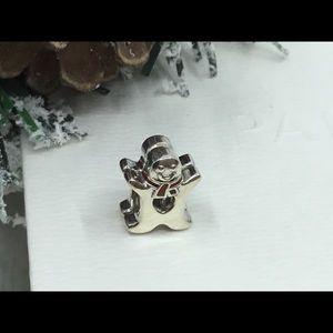Pandora Gingerbread Man Charm
